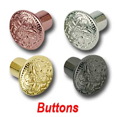 Floral Embedded Buttons