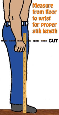 Proper Measurement for Walking Stik