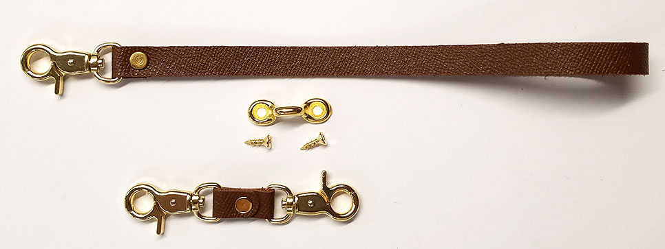 Saffiano Strap & Belt Loop Holder Kit
