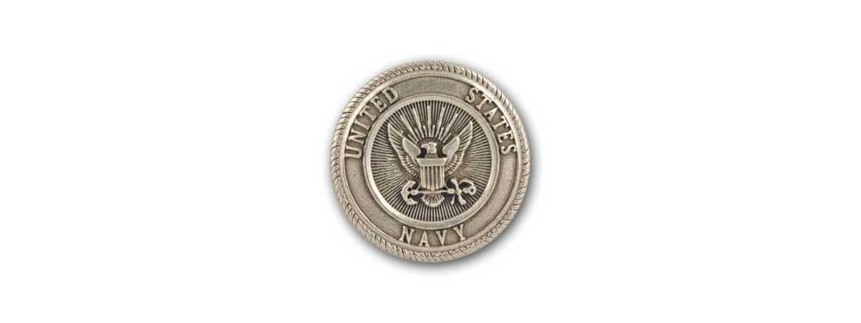 U.S. Navy Medallion (pewter)