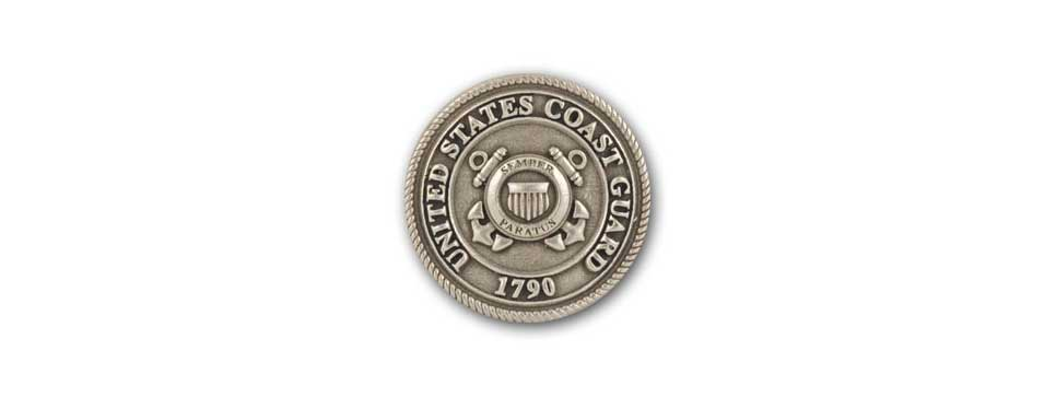 U.S. Coast Guard Medallion (pewter)