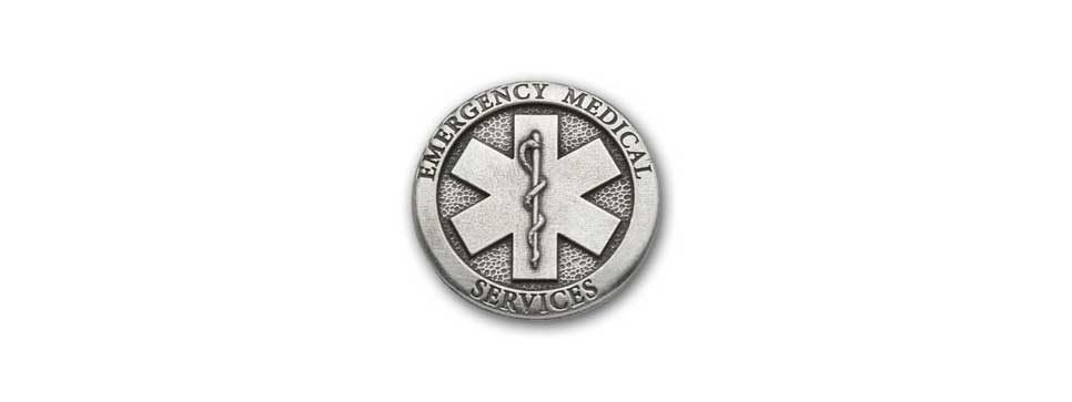 Emergency Medical Medallion (pewter)