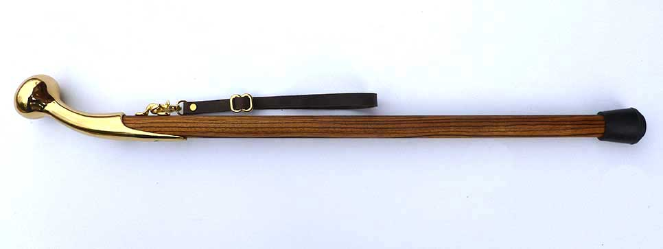 African Zebrawood Thumper