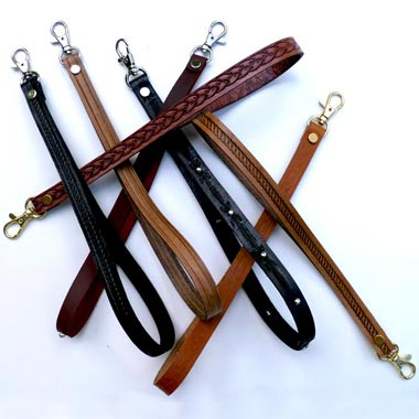 Deluxe Leather Wrist Straps